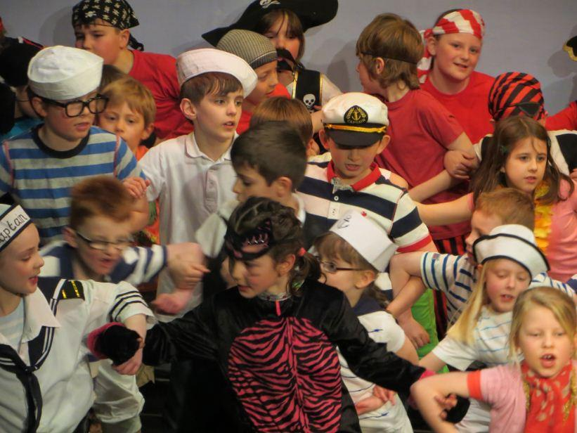 Year 3 And 4 Perform Pirates Of The Curry Bean Sutton